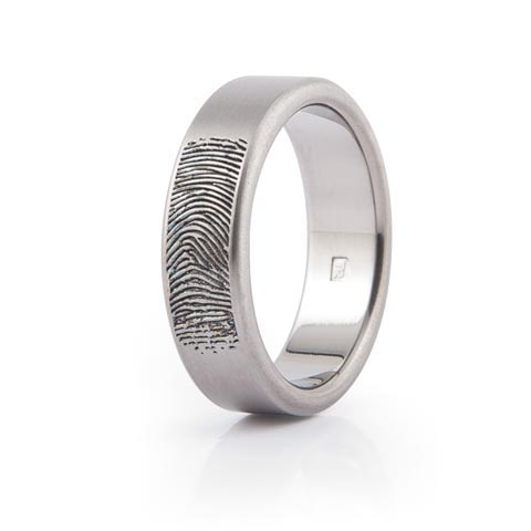 fingerprint engraving on wedding rings - Wedding Ring Inscriptions