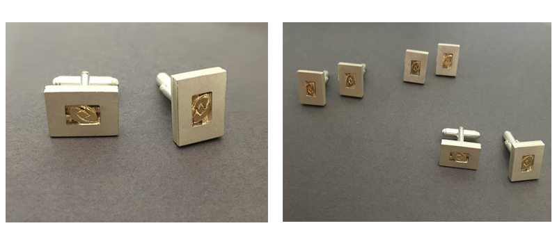 Finished Cufflinks