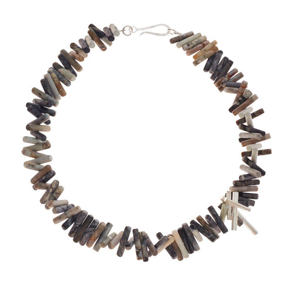 Jasper rhapsody necklace