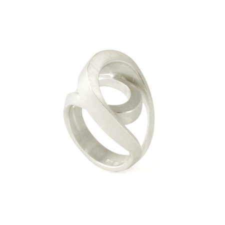 Silver tuohi IV ring