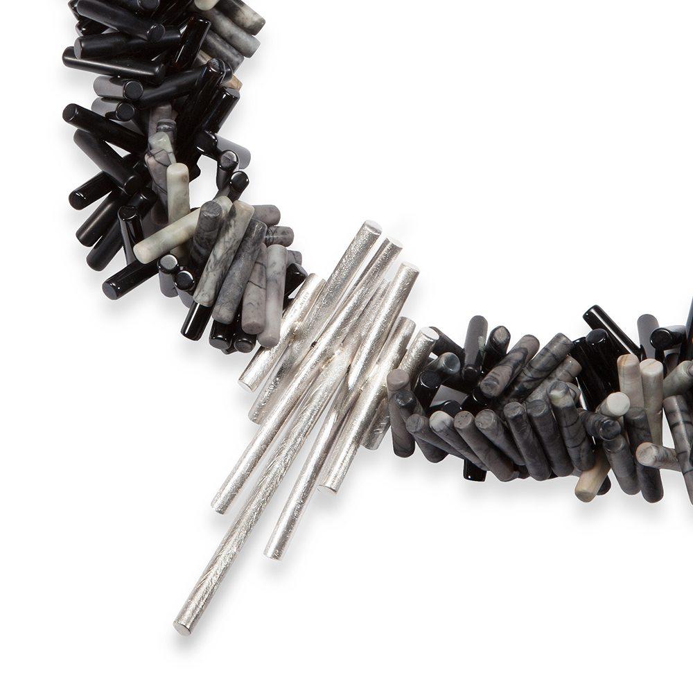 Triple strand rhapsody necklace 2