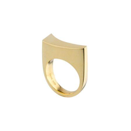 Balance ring - gold