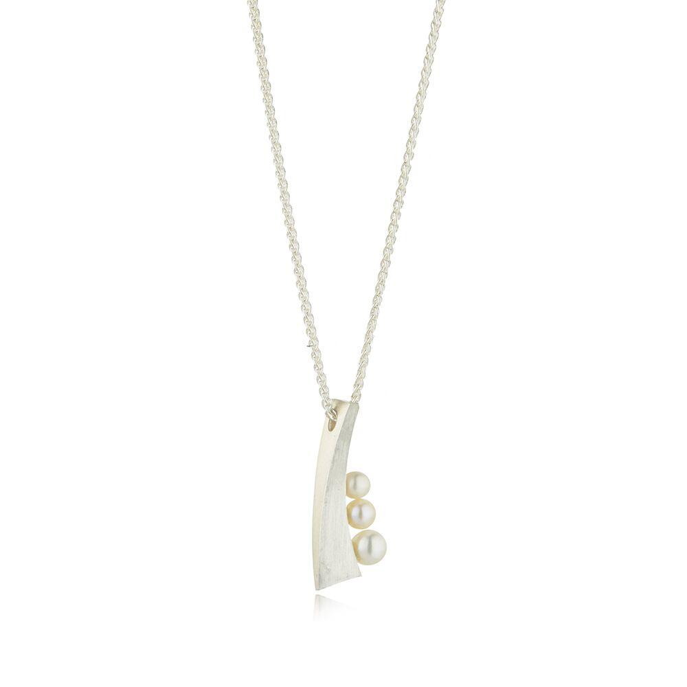 Balance small pendant - silver