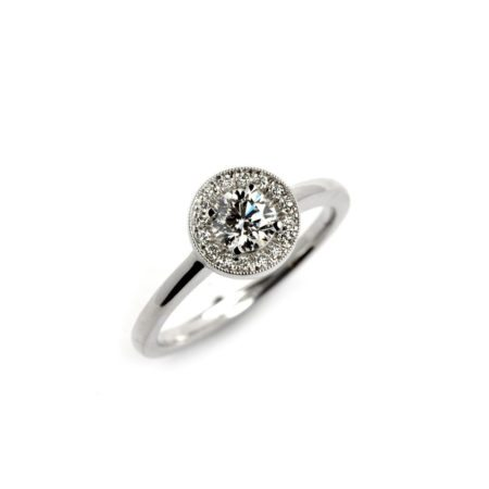 Diamond vintage westend ring