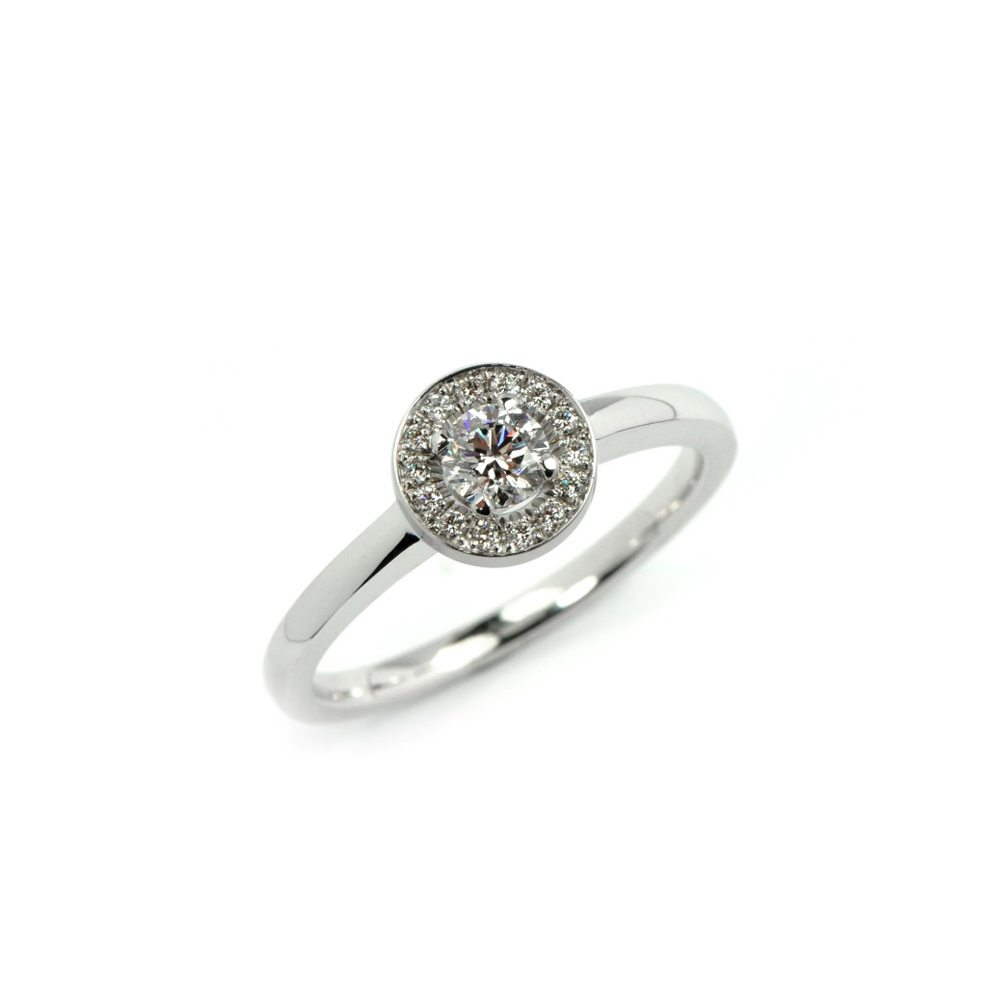 Diamond westend ring