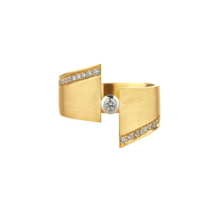 Eclipse ring - gold