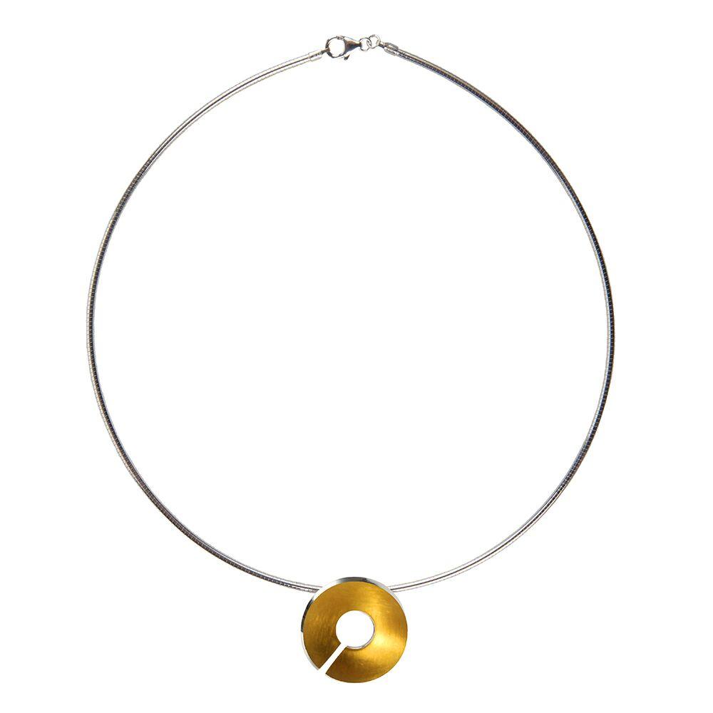 Gold-Torc-Pendant