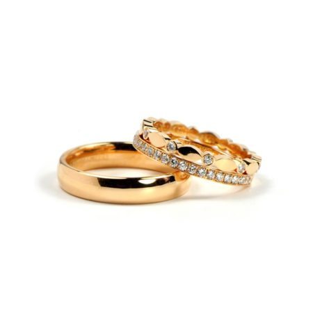Juliet wedding rings