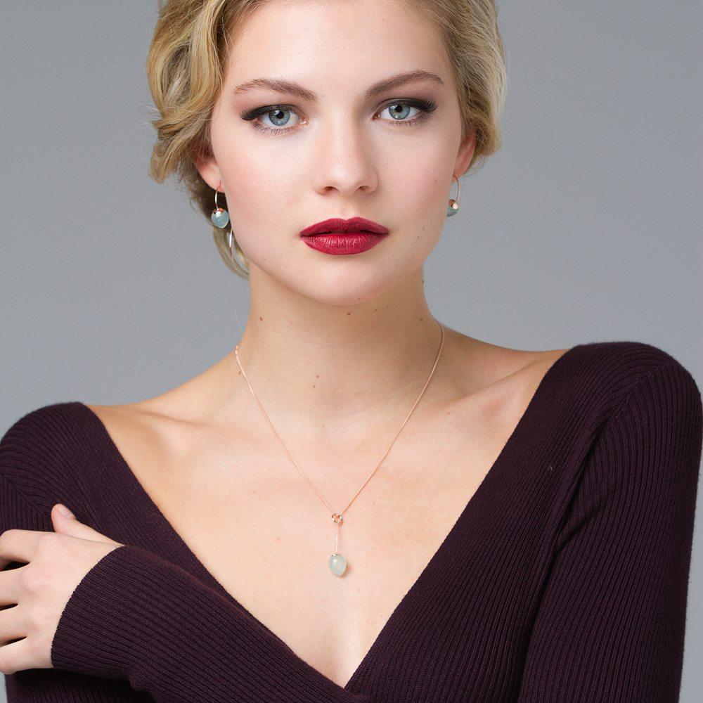 Nuppu pendant and earrings 2