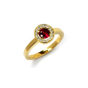 Ruby anvers ring
