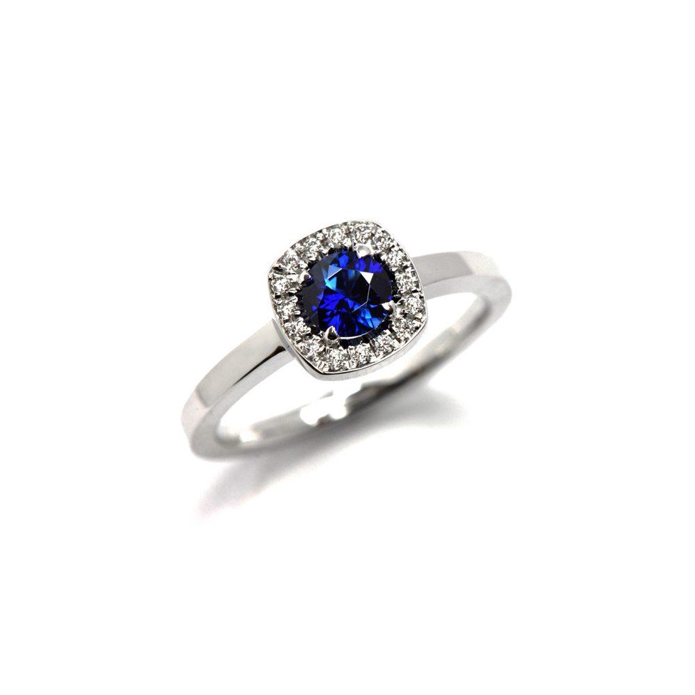 Sapphire Emelie ring