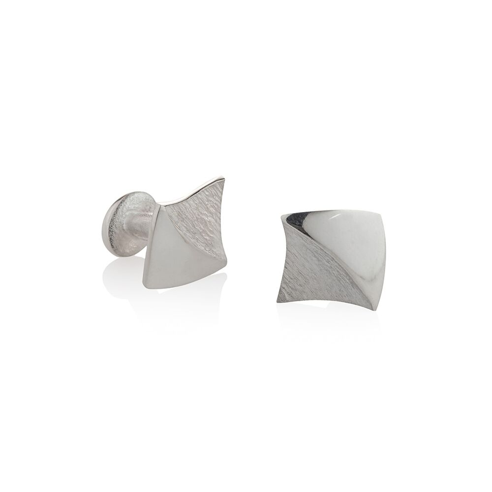 Shadow-lines-silver-cufflinks