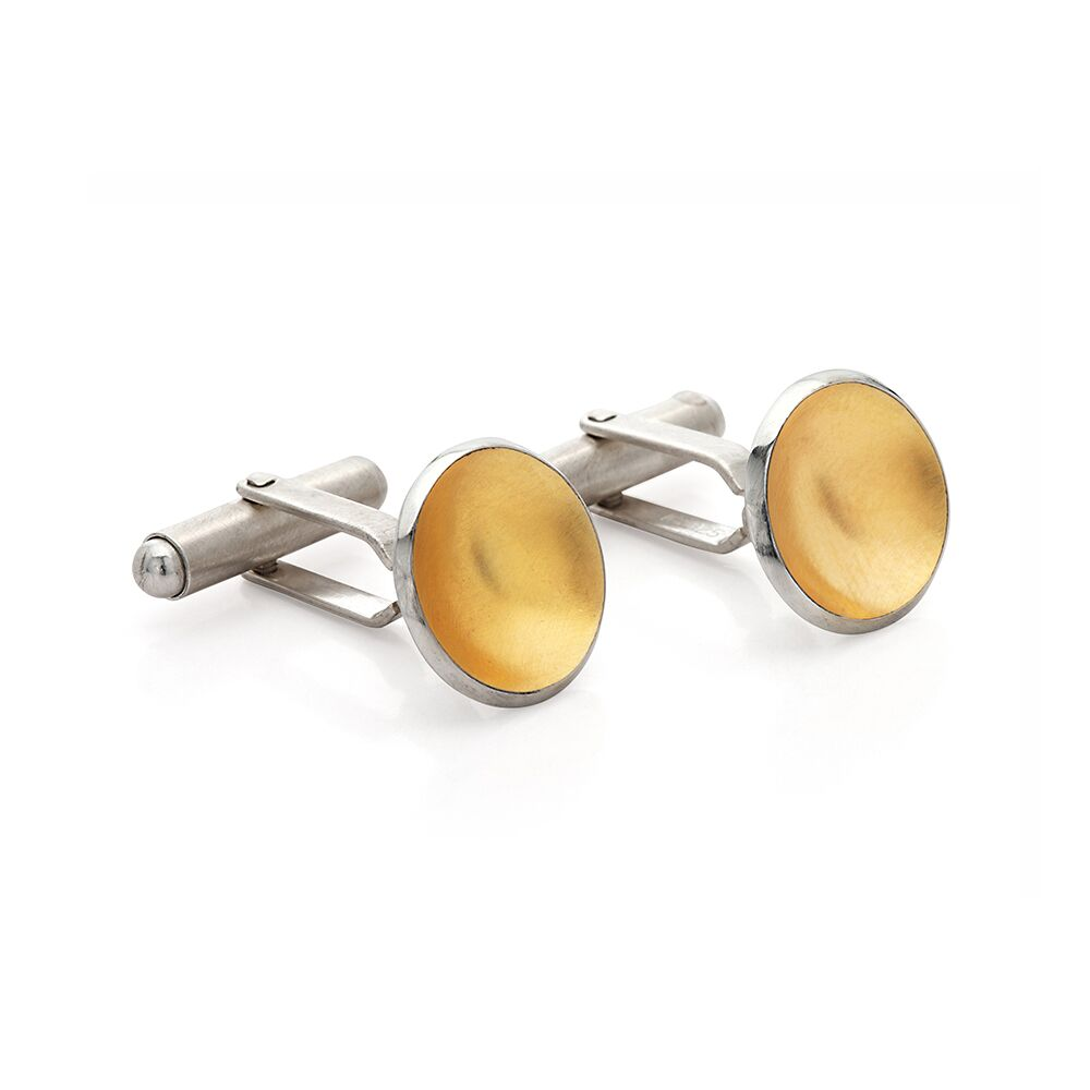 Torc Two Tone Cufflinks