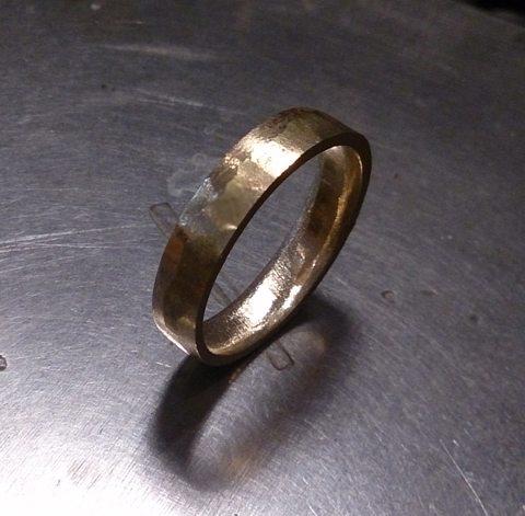 melt gold to make new jewelry jewelry