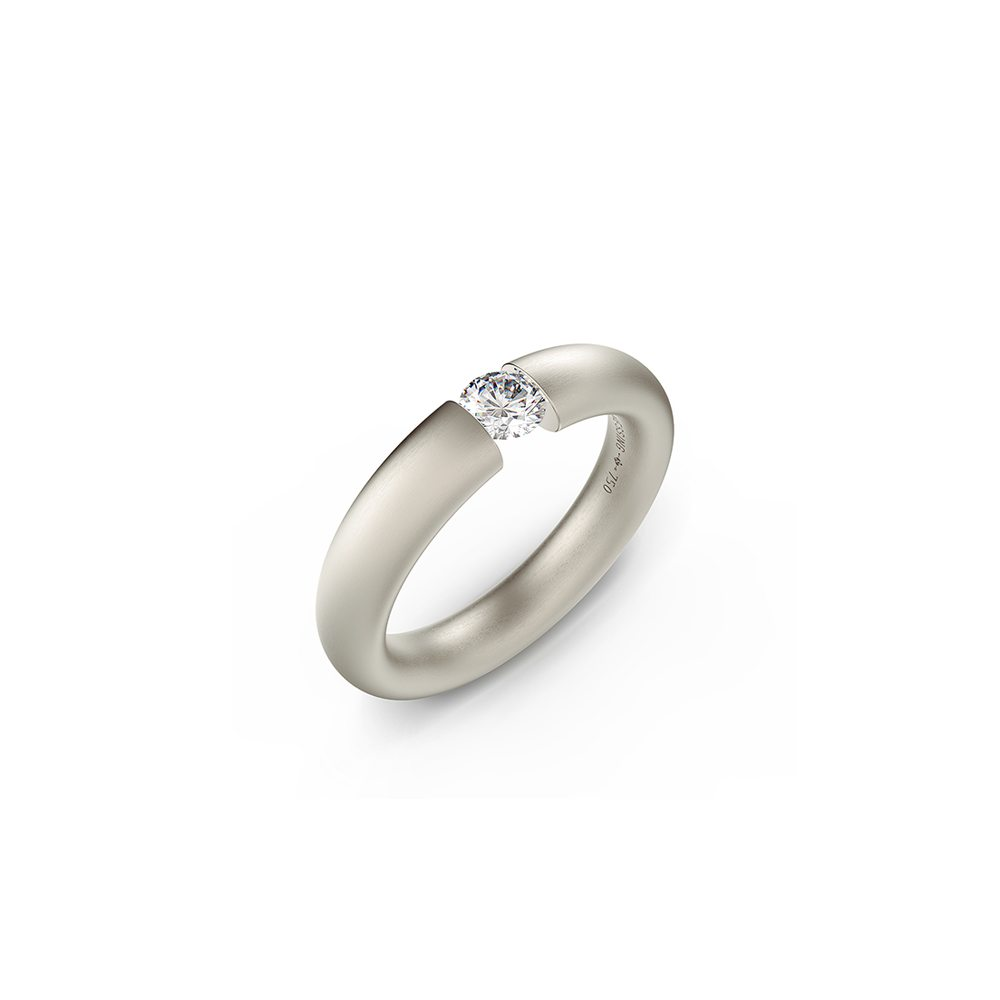 Oval tension ring