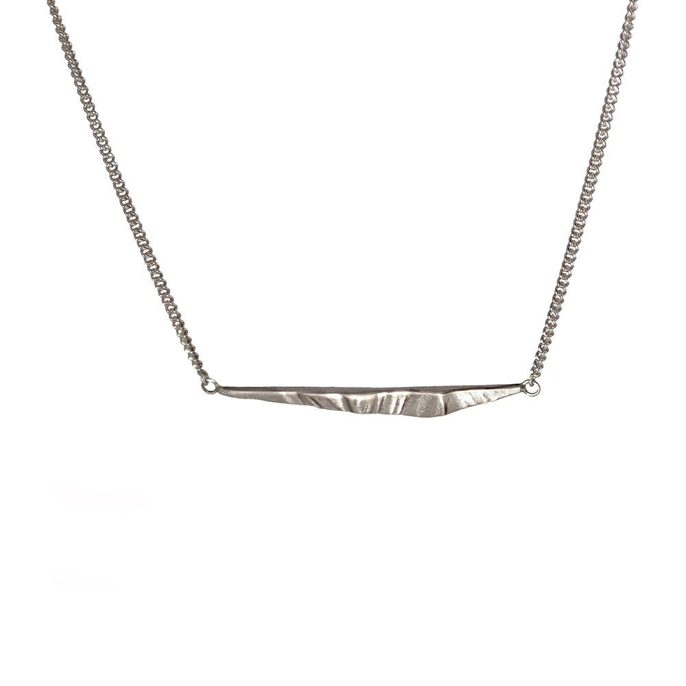 Silver drift pendant