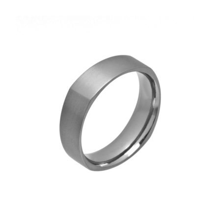 Square titanium ring