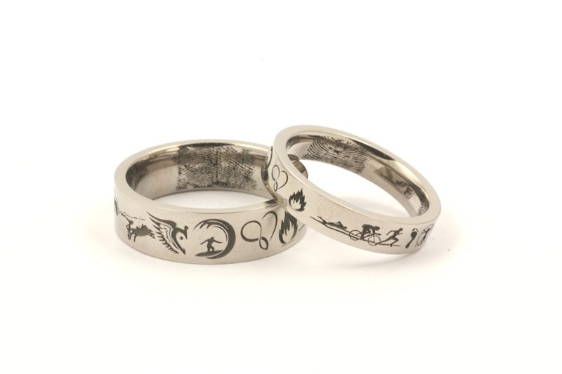 Symbolism Wedding ring engraving ideas