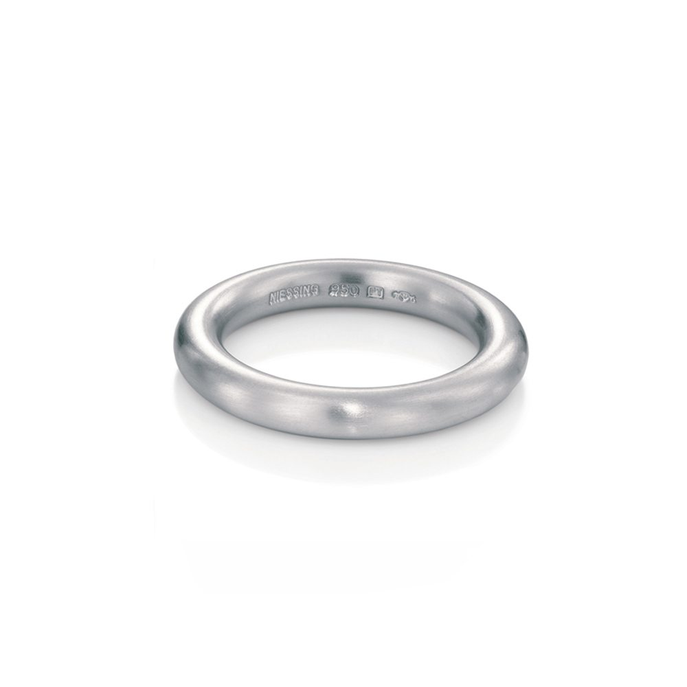 Niessing silver Modern wedding ring