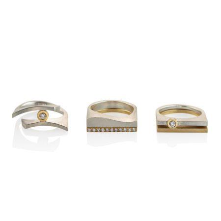 Quintet rings 4