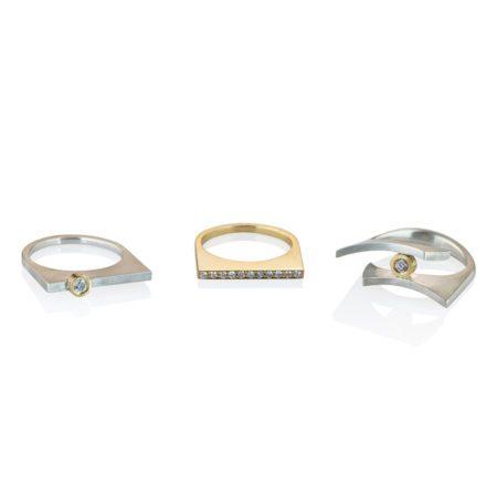 Quintet rings