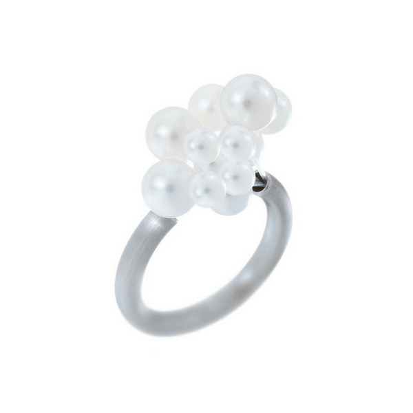 Cloud Pearl Ring