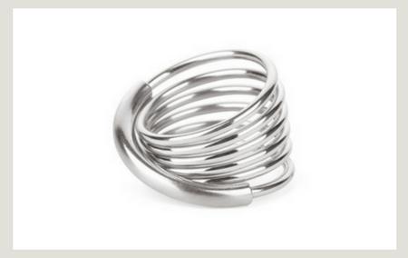 Steel spring stacking Ring
