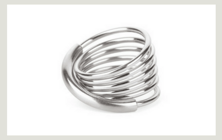 Steel spring stacking Ring