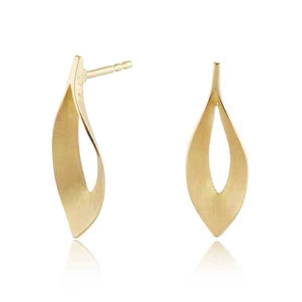Dancing Flame Gold Studs