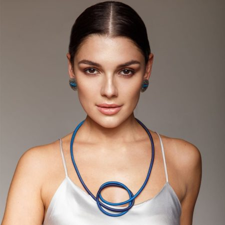 Earrings and Necklace Model