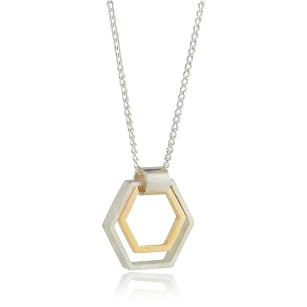 Two Tone Hexagon
