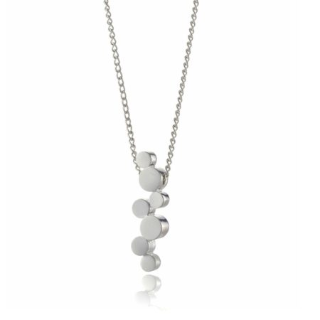 Stepping Stones silver pendant