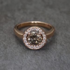 Chocolate Diamond Anvers Ring