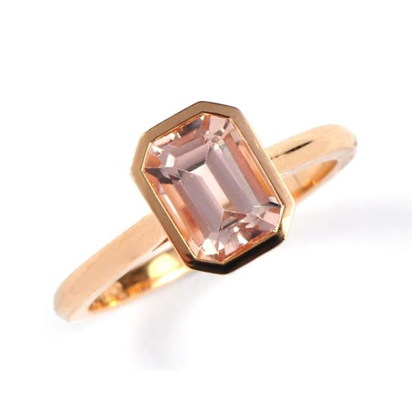 Emerald Cut Morganite