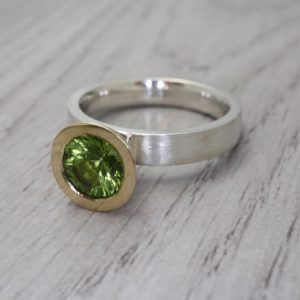 Peridot Cocktail Ring