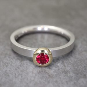 Ruby Kaleidoscope Ring