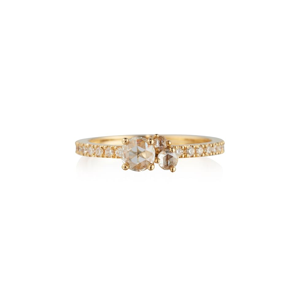 Rose Cut Diamond Astral Ring