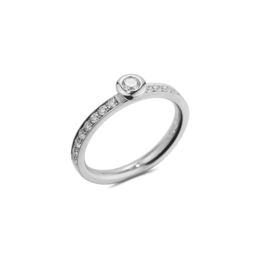 White Gold Pave Kaleidoscope Ring