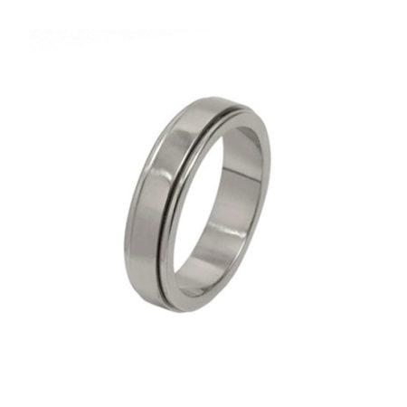 Stepped Titanium Ring