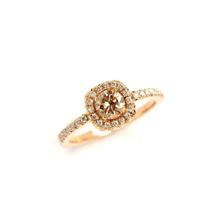 Champagne Diamond Emelie Ring