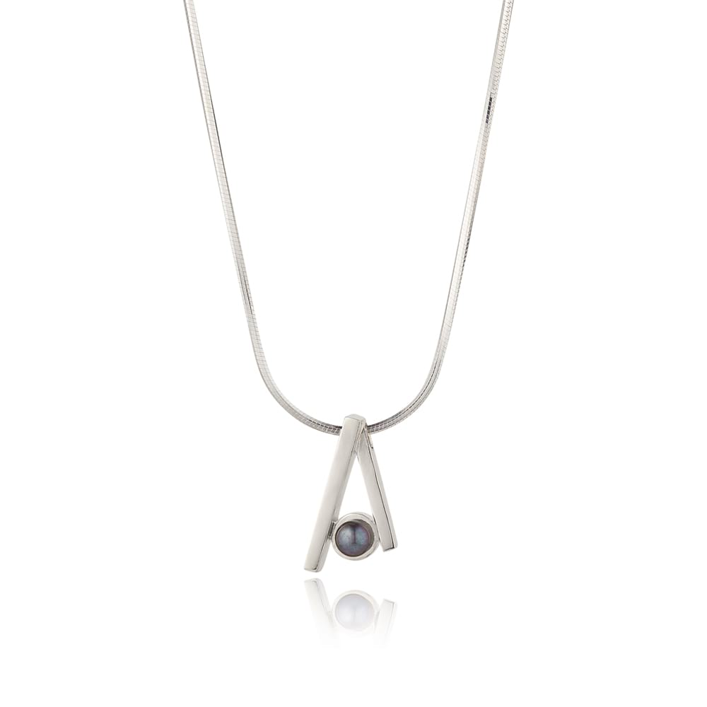 Duet Necklace on Chain