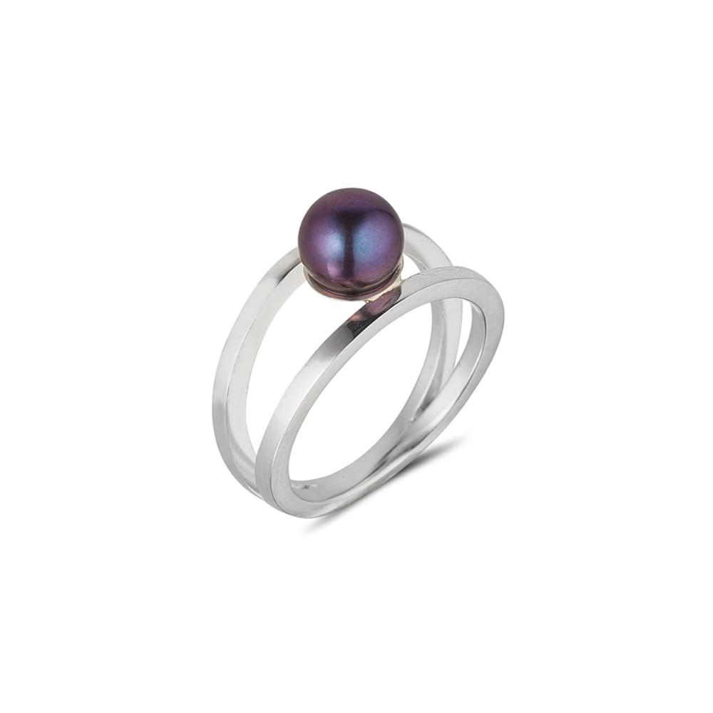 Purple Pearl Ring